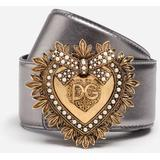 Devotion Belt - Metallic - Dolce & Gabbana Belts