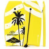 Costway Lightweight Super Bodyboard Surfing with EPS Core Boarding-S