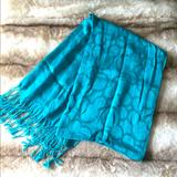 Disney Accessories | Mickey Mouse Scarf | Color: Blue/Green | Size: Os