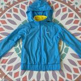 Nike Jackets & Coats | Nike Womens Reversible Training Jacket | Color: Blue/Yellow | Size: S
