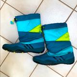Adidas Shoes   Adidas Womens Primaloft Winter Waterproof Boots   Color: Blue/Green   Size: 6