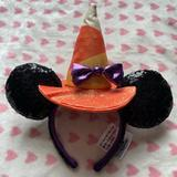 Disney Accessories | Disney Halloween 2020 Witch Ears | Color: Orange | Size: Os