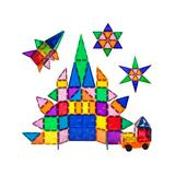 PicassoTiles Toy Building Sets - 80-Piece Diamond Magnetic Building Block Set