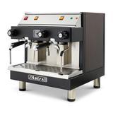 Astra M2CS019-1 Semi Automatic Espresso Machine w/ (2) Groups, (2) Steam Valves, & (1) Hot Water Valve - 110v