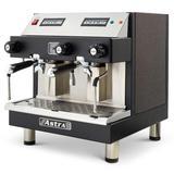 Astra M2C014-1 Automatic Espresso Machine w/ (2) Groups, (2) Steam Valves, & (1) Hot Water Valve - 110v