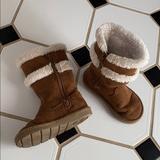 Michael Kors Shoes | Michael Kors Winter Boots | Color: Tan/White | Size: 8g