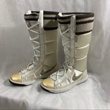 Nike Shoes | Nike Winter High 2 White Boots | Color: Brown/White | Size: 8.5
