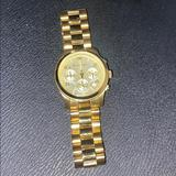 Michael Kors Accessories | Michael Kors Gold Watch | Color: Gold | Size: Os