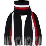 Moncler Tricolour Scarf - Black - Moncler Scarves
