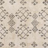 "Mecca 2'6"" x 4' Moroccan Farmhouse Handmade Cotton Area Rug - Hauteloom"