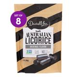 DARRELL LEA - Soft Black Licorice Bites - Set of Eight