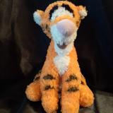 Disney Toys   Disney Tigger Winnie-The-Pooh Fuzzy Plush Stuffed Animal Toy   Color: Orange   Size: Approx 9h