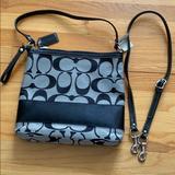 Coach Bags | A Coach Purse Or Small Tote Bag Or Messenger Bag | Color: Black/Gray | Size: Os