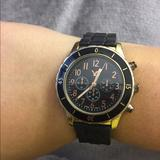 American Eagle Outfitters Accessories   Nwot Black & Gold Watch   Color: Black/Gold   Size: Os