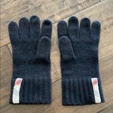 Burberry Accessories | Burberry Mens Black Cashmere Gloves - One Size | Color: Black | Size: Os