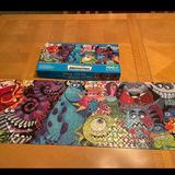 Disney Games   Pixar Monsters Inc Puzzle   Color: Blue/Green   Size: Os