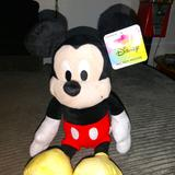 Disney Toys | Mickey Mouse Plush Toy Doll 14inch | Color: Black/Red | Size: Osbb
