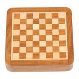 Novica Traveling w/ Royalty Travel Chess Set Wood in Brown, Size 1.1 H x 1.1 W x 5.0 D in | Wayfair 391594