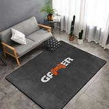 Gamers Area Rugs Non-Skid (Non-Slip) Floor Rug Carpet Soft Cozy Washable Accent Rug Yoga Mat for Indoor Living Dining Room Playroom and Bedroom Area 60 x 39 inch