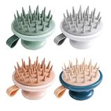 HUABIN Hair Scalp Massager Shampoo Brush, Scalp Massager, Soft Silicone Bristles Care for The Scalp, Exfoliate and Remove Dandruff, Promote Hair Growth