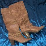 Torrid Shoes | Brown Suede Boots | Color: Brown | Size: 11