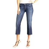 Anthropologie Jeans | Citizens Of Humanity Kelly #063 Cropped Stretch | Color: Blue | Size: 28