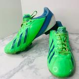 Adidas Shoes | Adidas Boys F5 Trx Fg Soccer Cleats Green 3.5 | Color: Blue/Green | Size: 5.5