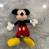 Disney Toys | Original Disney Mickey Plush Toy From Disneyworld | Color: Black/Red | Size: Regular
