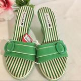 American Eagle Outfitters Shoes | American Eagle Womens Sandals | Color: Green | Size: 6.5