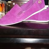 Michael Kors Shoes   Michael Kors Suede Loafers   Color: Purple   Size: 6.5