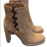 Free People Shoes | Free People Ankle Boots Zipper Closure Sz 41 | Color: Brown | Size: 41