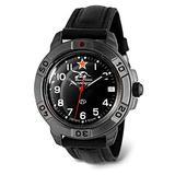 VOSTOK   Komandirskie 436306 Tank Commander Russian Military Mechanical Wrist Watch   WR 20 m   Fashion   Business   Casual Men's Watches   Leather Band B