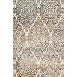 Kas Rugs Heritage Ivory Timeless Plush Accent Rug, 5'3 x 7'8 (HER937153X78)