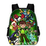 GoBen Kids Ben 10 Waterproof School Backpack Bookbag-Large Travel Backpack for Children,Student