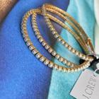 J. Crew Jewelry | J. Crew Pearl Stretch Bracelets (3) | Color: Black | Size: 2-25 X 2-25