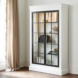 Delano Glass Door Cabinet - Ballard Designs
