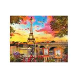 Springbok Puzzles Puzzles undefined - Paris Sunset 1000-Piece Jigsaw Puzzle