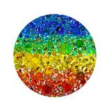 Springbok Puzzles Puzzles undefined - Illuminated Marbles 500-Piece Round Jigsaw Puzzle