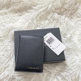 Coach Accessories   Coach. Slim Bifold Card Case.   Color: Black   Size: Os