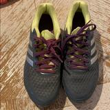 Adidas Shoes   Adidas Spring Blade Tennis Shoes   Color: Gray/Purple/Silver/Yellow   Size: 6