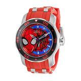 Invicta Men's 34742 Marvel Quartz 3 Hand Black, White, Blue, Red Dial Watch