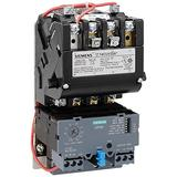 Siemens 14CUB32AA Heavy Duty Motor Starter, Solid State Overload, Auto/Manual Reset, Open Type, Standard Width Enclosure, 3 Phase, 3 Pole, 0 NEMA Size, 0.75-3.4A Amp Range, A Frame Size, 110-120/220-240 at 60Hz Coil Voltage