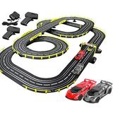 Race Tracks 7.2M Slot Car Educational Toy Electric Track Racing Set R/C High Speed Remote Control Splicing Track Vehicle Playsets Boy and Girl Birthday Gifts
