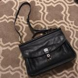 Coach Bags | Mens Leather Coach Briefcase | Color: Black | Size: 12h X 12wide X 4 Width
