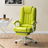Inbox Zero Gaming PC & Racing Chair Faux Leather in Green, Size 44.0 H x 26.0 W x 25.5 D in | Wayfair A9412124446246EDA3109CF687FA60CF