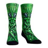 Rock Em Apparel Socks - Green Alien Autopsy Socks - Kids & Adult