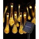 Sowaz Solar Lanterns Black - Lightsmax Warm White 30-LED 20' Outdoor Solar String Lights