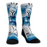Rock Em Apparel Socks - The Mandalorian Blue Bo-Katan Battle Slash Socks - Kids & Adult