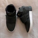 Adidas Shoes   Adidas Tubular Basketball Hightop Sneakers   Color: Black   Size: 7b