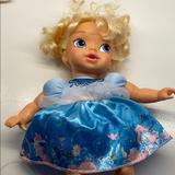 Disney Toys | Frozen Baby Elsa Doll | Color: Blue/Yellow | Size: Osg